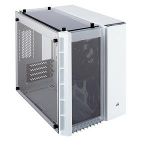 Gabinete Gamer Corsair Micro Atx Crystal 280x Blanco Cristal