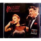 Cd Original Paloma San Basilio Plácido Domingo, En Concierto