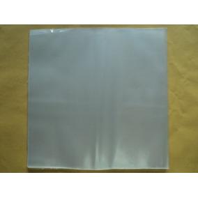 50 Plásticos Externos P/ Vinil Lps 0,15 Grossos Frete 15,00