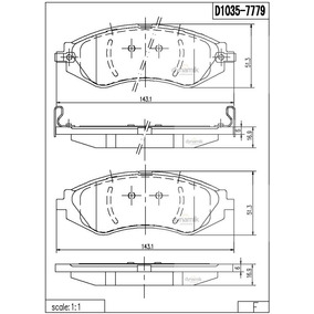Balatas Delantera Chevrolet Optra 2004-2006 Low 7779d1035