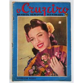 Revista O Cruzeiro N° 2 - Ano Xiv - Moda - 1941