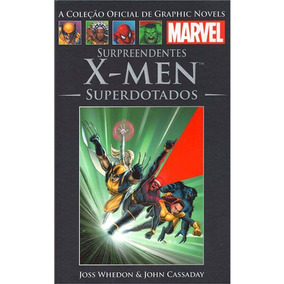 Livro Graphic Novels Marvel Os Surpreendentes X-men Lacrado