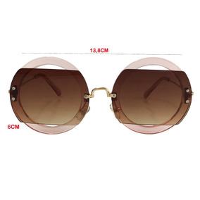 Oculos De Sol Redondo Feminino Rosa Fretes Gratis Barato - Óculos De ... 69fdefa767