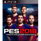 Pes 2018 - Para Ps3 - Digital - Español - Promoción