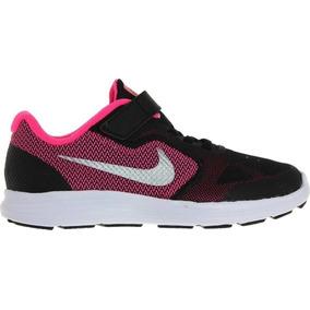 super popular 25918 a69dd Zapatillas Nike Revolution 3 (psv) Niñas Urbanas 819417-001