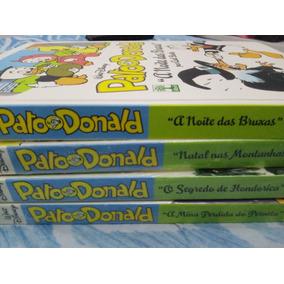 O Pato Donald- 4 Hqs- Capa Dura-novos