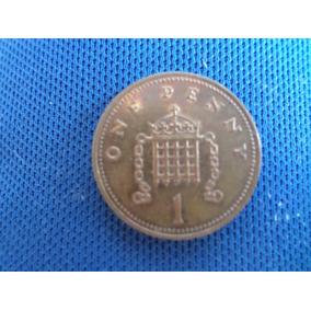 Moeda Inglesa One Penny 2002