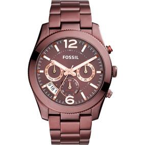 286807e0d3b4e Relógio Fossil Feminino Bordô Original Promoção Es4110 4tn