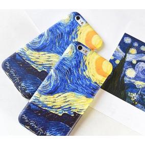 cddf7b1c69f770 Funda Iphone Starry Night Noche Estrellada Vincent Van Gogh
