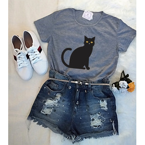 Roupa Feminina Blusa Tumblr Tshirt Baby Look Até Gg Barato!!