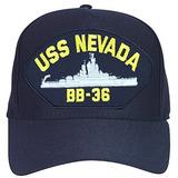 Uss Nevada Bb36 Gorra De Beisbol Azul Marino Fabricado En E 6914eac27ae