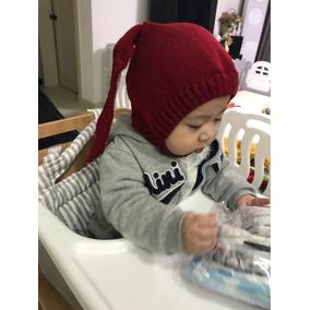 Gorrito Invierno Tejido Orejas Conejo Para Bebe Aborregado 8dcab07926d