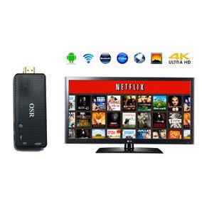 Convertidor Smart Tv Convertir Tv Box Android 4k Usb Inter