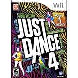 Cinta De Videojuego Just Dance 4 Para Nintendo Wii