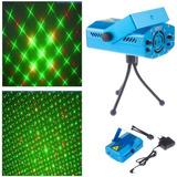 Mini Laser Puntos Figuras Ritmico Luces Led Eventos