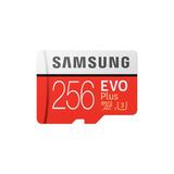Cartão Samsung Micro Sdxc Evo Plus+ 256gb 100mb/s Uhs-3 Sd