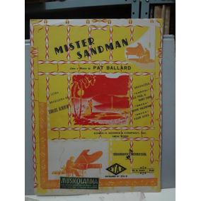 Partitura - Mister Sandman - Pat Ballard - Carlos Alberto