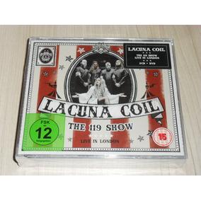 Box Lacuna Coil - The 119 Show Live London 2018 (dvd + 2 Cds