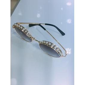 85b1f2e1d5fb1 Oculos De Sol Perola Redondo Femenino Otica Arcoiris N43