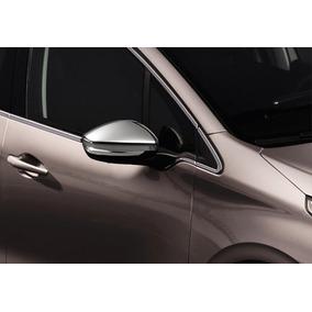 Juego Embellcedores De Retrovisor Cromados Peugeot 208