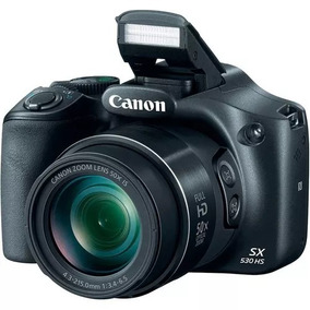 Camera Canon Sx530hs Powershot Wifi + 32gb Classe10+ Bolsa