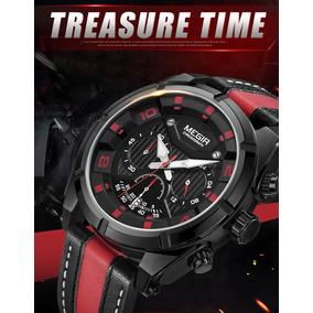Relógio Masculino Megir Original Top