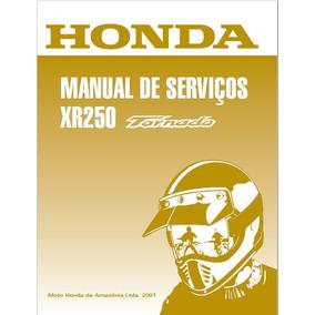 Manual De Serviço Honda Xr 250 Tornado Pdf