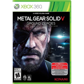 Metal Gear Solid V Ground Zeroes Xbox 360 Jogo Mídia Física