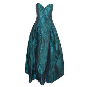 3e3e757f9a Vestido De Fiesta Azul Petroleo - Vestidos en Mercado Libre México
