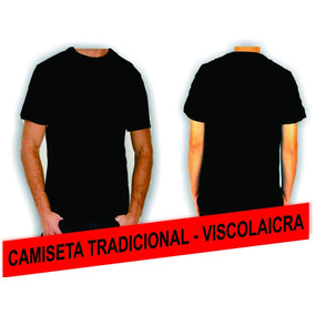 Camiseta Tradicional - Viscolaycra b4fdd2268f652