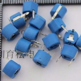 Condensador Capacitor Variable Trimmer 3a 5p Azules