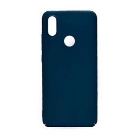 Case Azul + Vidrio Xiaomi Mi A2