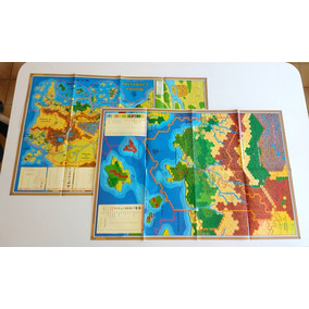 2 Mapas Rpg Karameikos Advanced Dungeons & Dragons