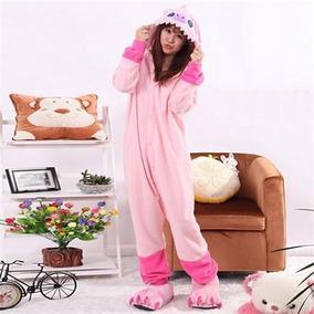 Pijama Mameluco Kigurumi Disfraz Cosplay Stitch Envío Gratis