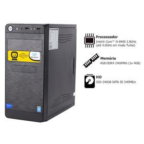 Pc Goldentec P-gcl Core I5 8400 2.8ghz 4gb Ssd 240gb