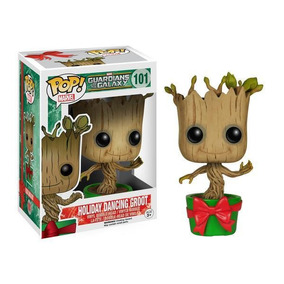 Funko Pop Holiday Dancing Groot (guardiões Galaxia) Original