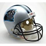 Casco Carolina Panthers Nfl Football Americano Decorativo