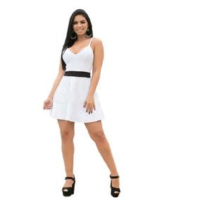 7557257bb Vestido Trapezio Preto E Branco Vestidos Tamanho G - Vestidos ...