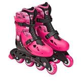 Patins 4 Rodas Barbie Infantil Nº 33 A 36 Fun C/ Nota Fiscal