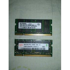 Memoria Ram 2gb Ddr2 Pc2 6400 800mhz Laptop Mini Laptop