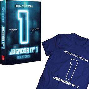 Livro - Jogador N1 + Camiseta Tamanho G