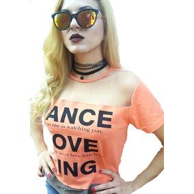 Jogo 6 Blusas Feminina Moda Verao , T-shirt Frete Gratis