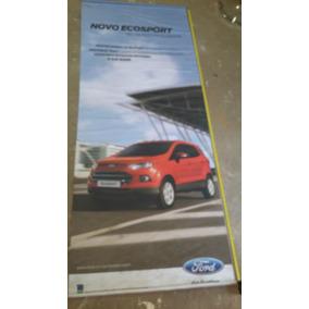Banner Concessionaria Ford Garagem Placa Decoração Amarela