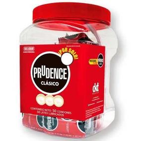 Contenedor 50 Condones Prudence Clasicos Preservativo