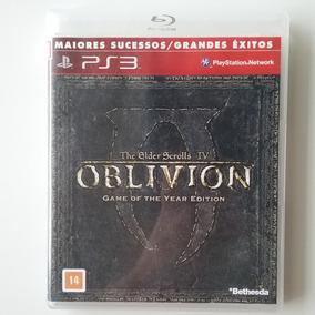 Oblivion The Elder Scrolls Iv Ps3 M Física S/ Mapa Perfeito