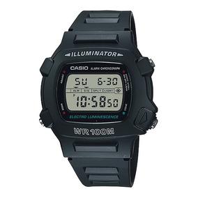 463a117667f ... Digital Preto Frete Grátis. 7 · Relógio Casio W-740-1vs Masculino Alarme  Cronômetro Luz Led