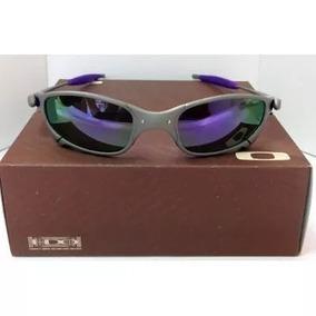 Oculos Bl Lente Escura Prata De Sol - Óculos De Sol Oakley Juliet no ... 80a981f67a