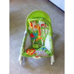 Silla Mecedora Para Bebés Fisher Price En Perfecto Estado