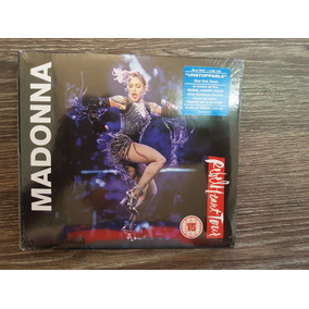 Madonna - Rebel Heart Tour - Digipack Blu Ray + Cd. Lacrado