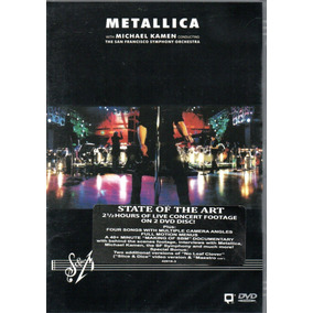Dvd Duplo Metallica - The San Francisco Symphony Orquestra